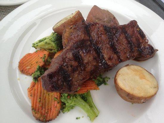 Sandstone Grillhouse: NY Steak 8oz