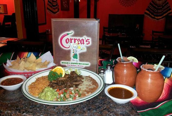 Great Mexican Food Review Of Correa S Seafood Restaurant Fort Mohave Az Tripadvisor