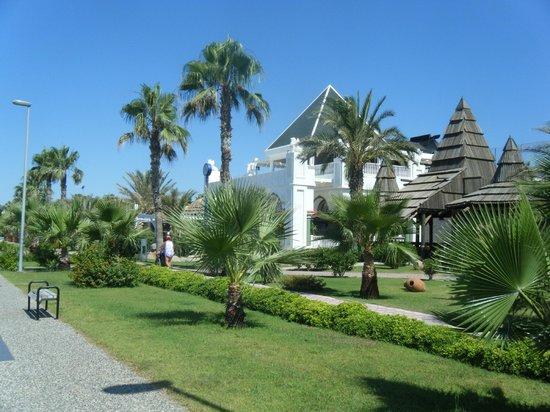 Kamelya Selin Hotel: beach area