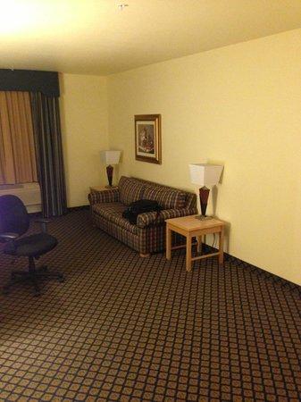 هامبتون إن آند سويتس سان خوسيه: The half of the room with furniture