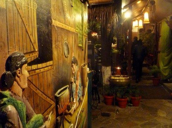 City Hut Family Dhaba: Passageway