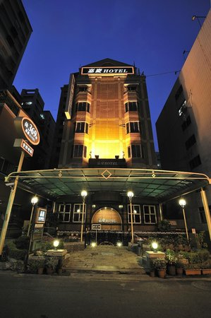 Jiaqing Hotel: night view