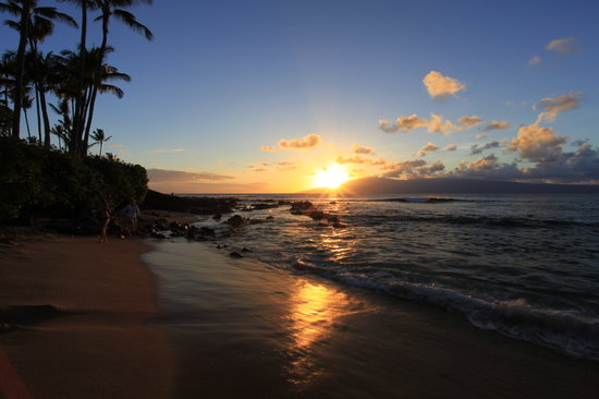 Napili Kai Beach Resort : Another beautiful sunset view