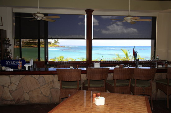 Napili Kai Beach Resort : Great view from the bar in the restaurant