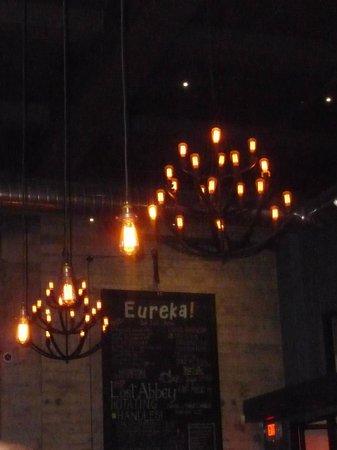 Eureka Burger: Iluminación