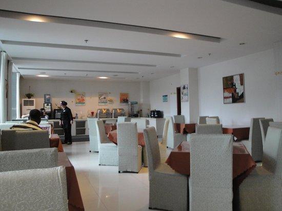 Jinjiang Inn (Ningbo Youngor) : Restaurant