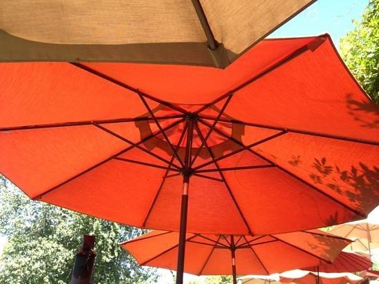 River's Edge : pretty umbrellas