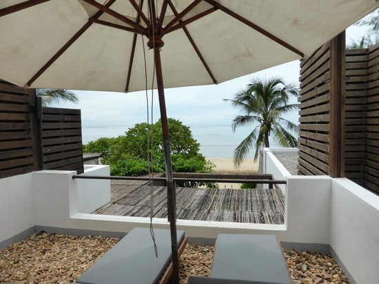 Aleenta Hua Hin Resort & Spa: Bar view 1