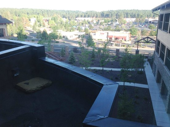 Courtyard Flagstaff : The view from my room