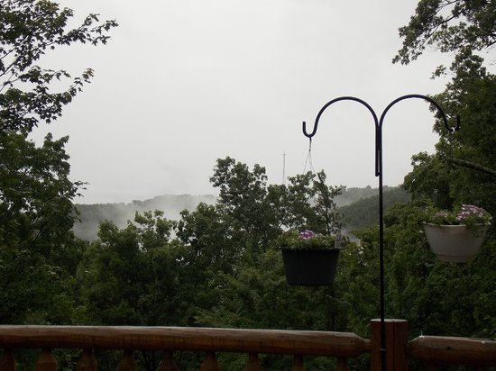 Quail Ridge Bed & Breakfast: View from breakfast table