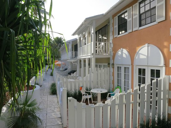 Sunrise Beach Clubs and Villas: Our patio.