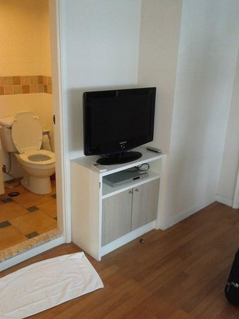 Area Residence Sathorn : flat screen tv