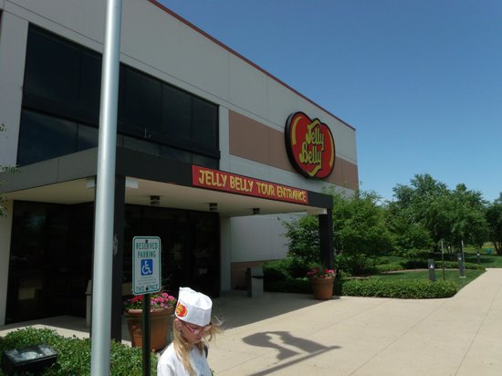Jelly Belly Center: front entrence