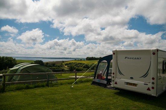 Penhale Caravan and Camping Park : Sea view