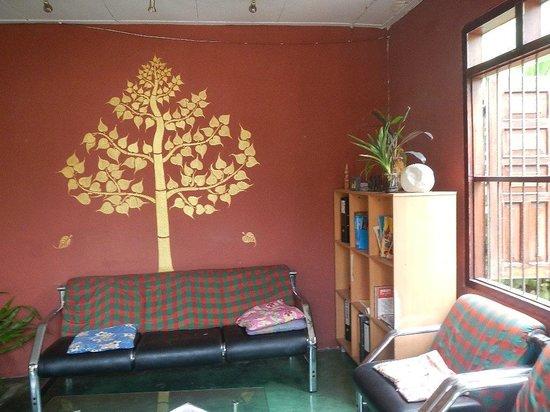 Halolao Backpackers: lounge