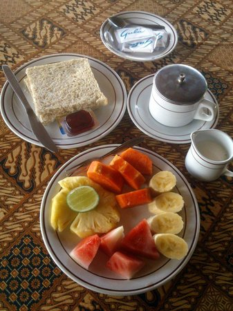 Taman Indrakila: breakfast included