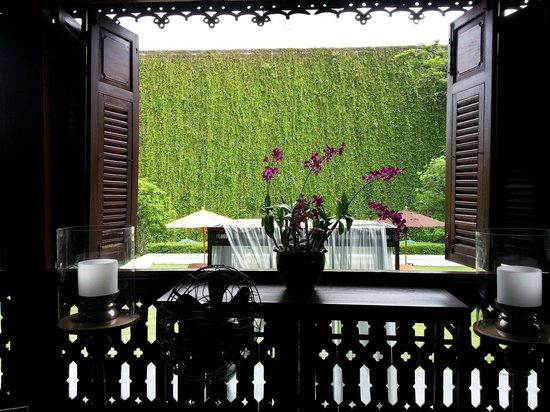 137 Pillars House Chiang Mai : View from the Lounge