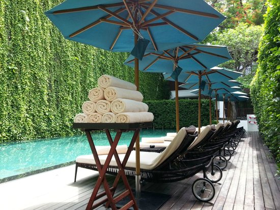 137 Pillars House Chiang Mai : The pool