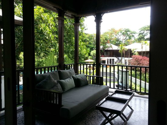 137 Pillars House Chiang Mai : Balcony