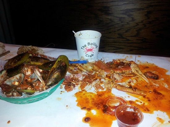 The Boiling Crab : My wife's aftermath!!