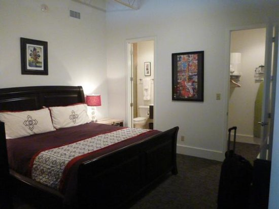 The Lofts at the Five & Dime: Master Bedroom