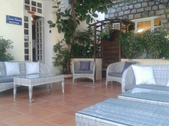 Hotel de la Plage Santa Vittoria : ingresso