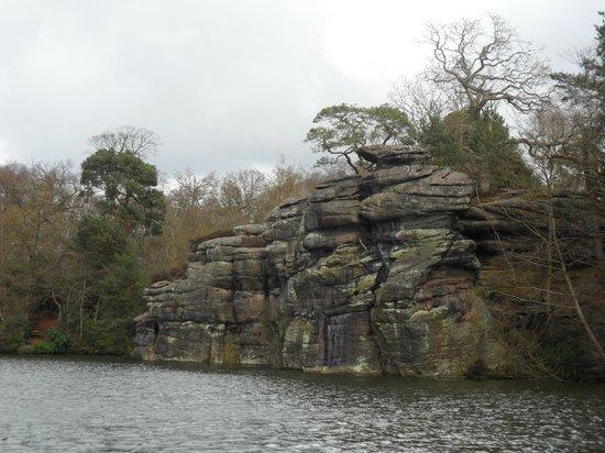 Plumpton Rocks: Beautiful views.