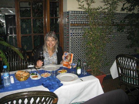 La Menora : dining on the terrace