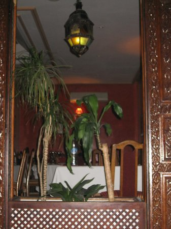 La Menora : interior of the restaurant