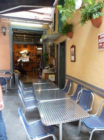 Pizzeria Il Montino : Terraza