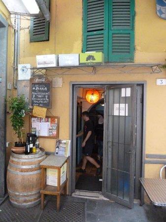 Pizzeria Il Montino : Entrada
