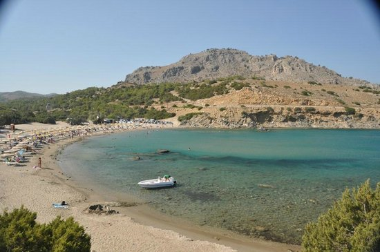 Haraki, Greece: Agathi beach la famosa Golden