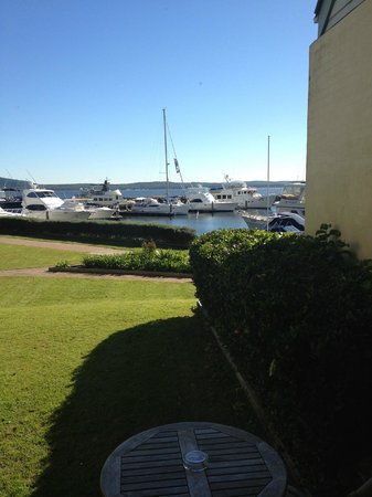 Anchorage Port Stephens: View from our room
