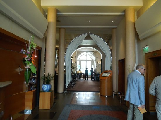 L'Imperial Palace : Lobby at L'Impérial Palace – Annecy, Sep 2-3 2012