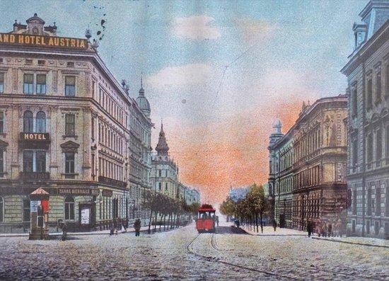Hotel Palac: Grand Hotel Austria old postcard