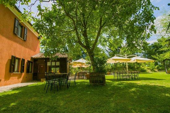 Country House La Celletta: Ristorazione esterna
