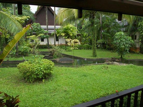 Mukdara Beach Villa and Spa Resort: View from our Garden Villa