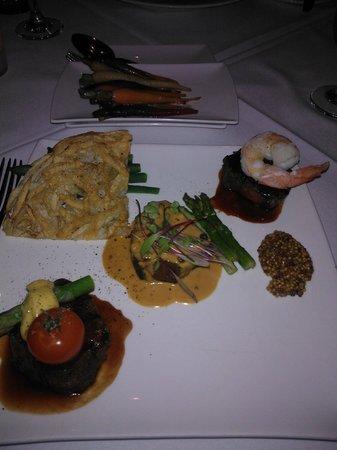 Lenzerheide Restaurant: Main - Trio of Beef