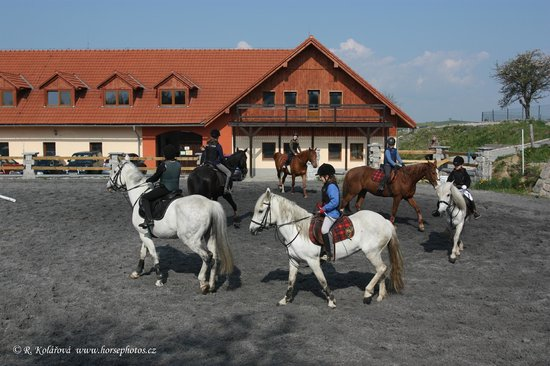 Hotel Farma Vysoka: Classes with the kids