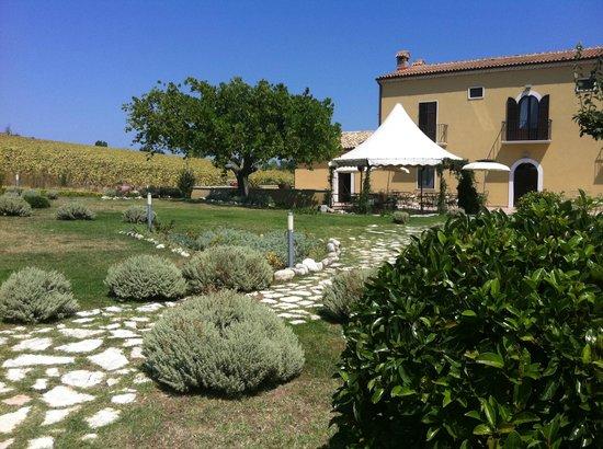 Masseria Grande: dining and breakfast area