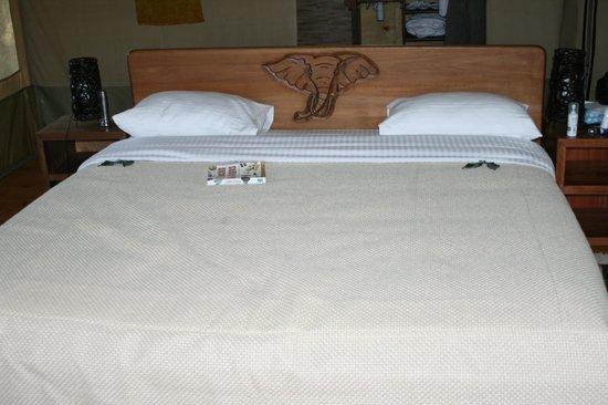 Loyk Mara Luxury Camp: Comfy bed