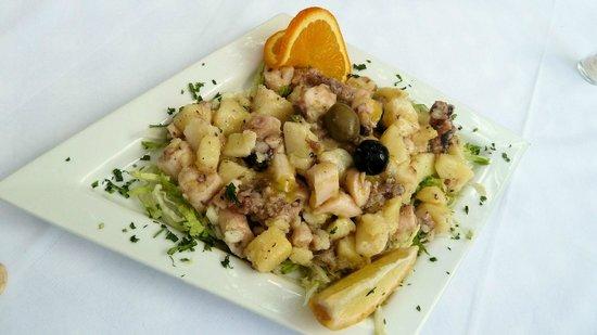 Buffet Osor : Octopussalat
