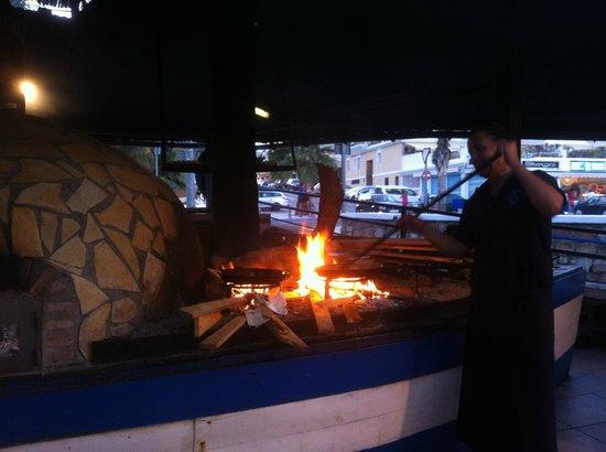 Chiringuito Moreno: Moreno - barbecue