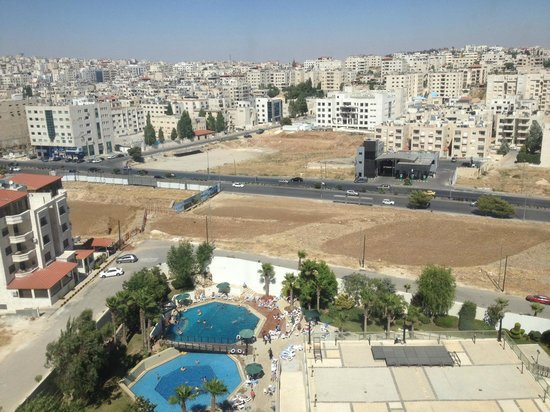 Holiday Inn Amman : View from the room