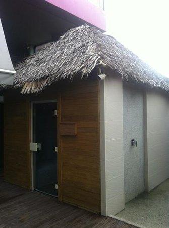 De coze' Hotel: steam room sauna