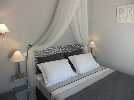 Les Agathéas : Our room - called 'Santoline'