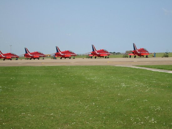 RAF Scampton Heritage Centre: The Reds