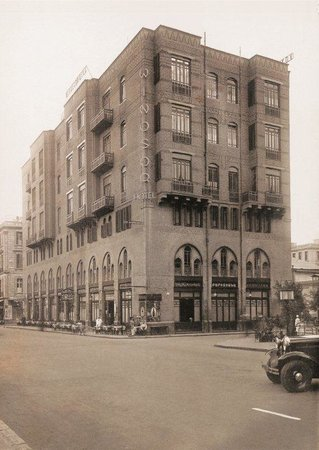 Windsor Hotel Cairo: Built in 1893