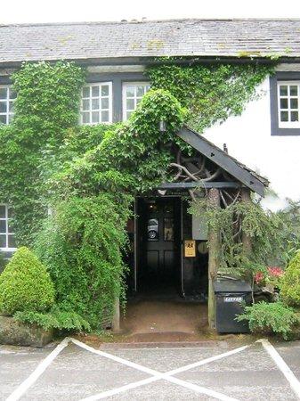 The Pheasant Inn: the entrance