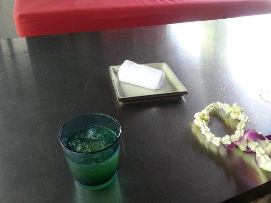 SALA Phuket Resort & Spa: Welcome drinks